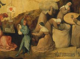 Fragment van De Hooiwagen van Jheronimus Bosch